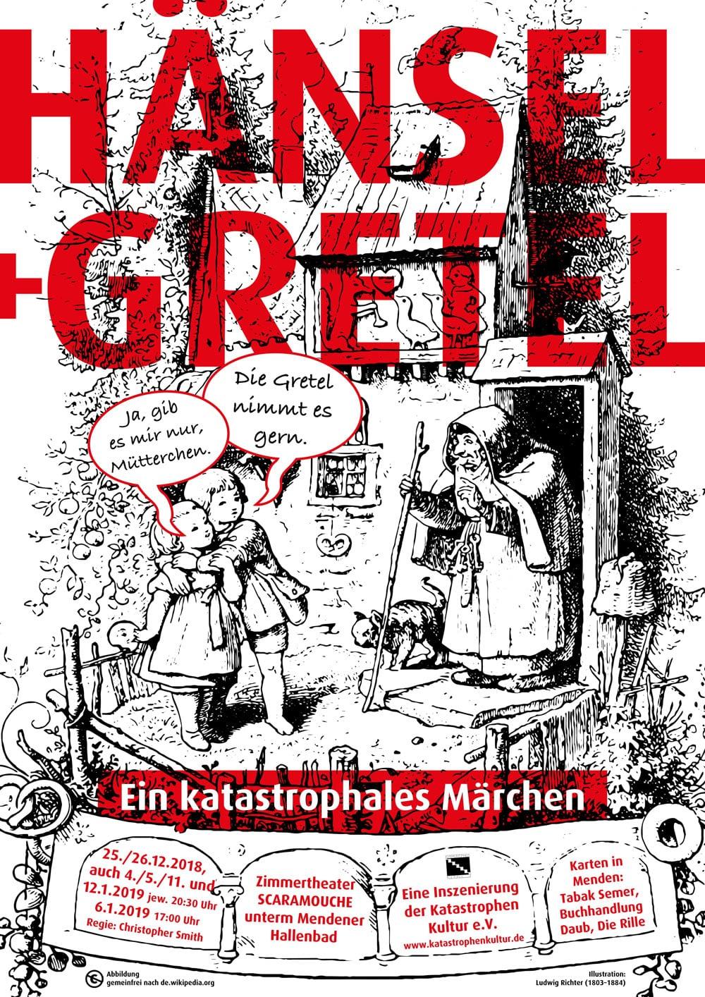 Plakat von Hänsel + Gretel